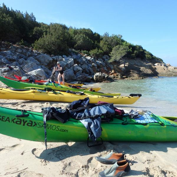 Sea Kayak Samos Multi Arrival