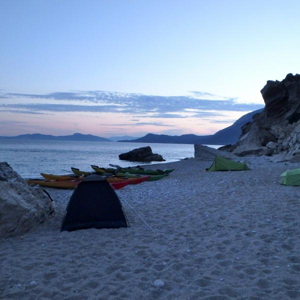 Sea Kayak Samos Multi Beach