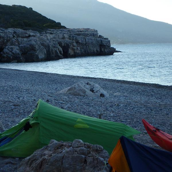 Sea Kayak Samos Multi Camp