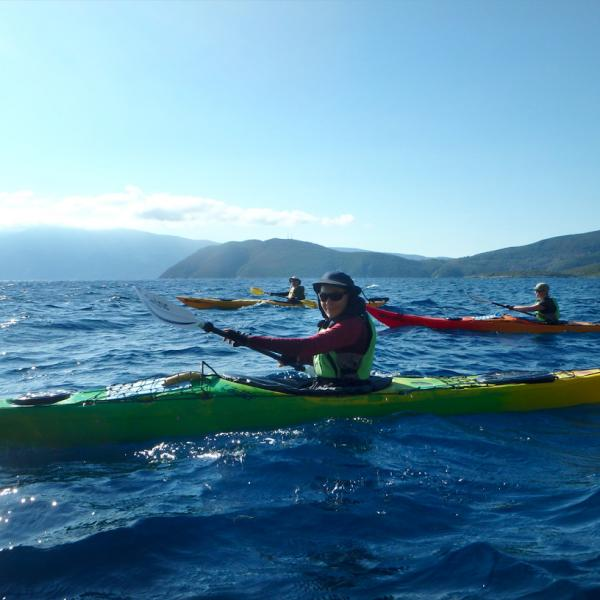 Sea Kayak Samos Multi Paddling